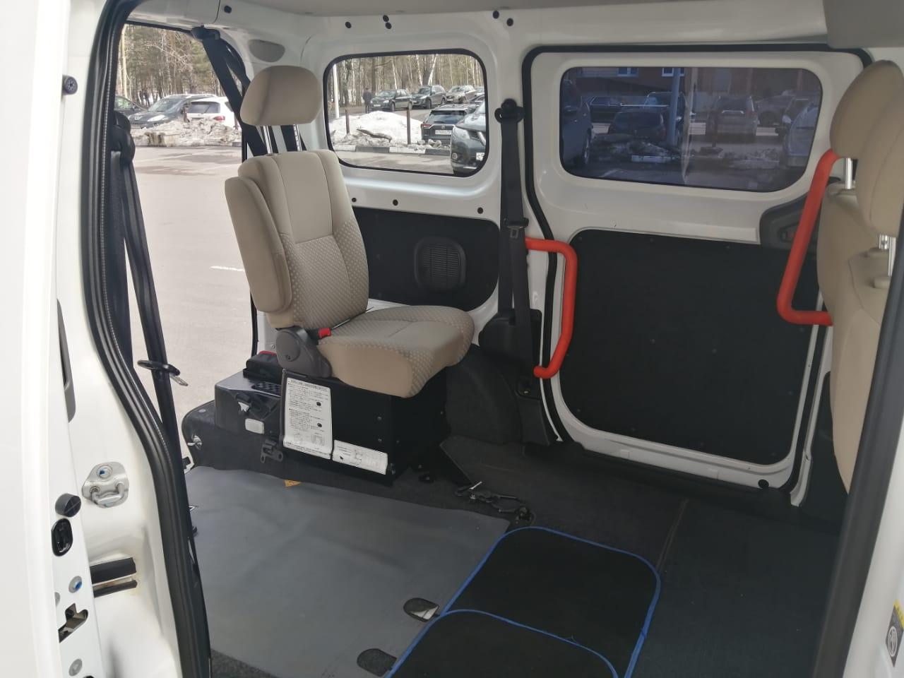 ИНВОТАКСИ - Nissan NV200 Welcab